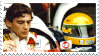 Ayrton Senna Stamp by melisnirvana