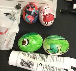 Nova Challenge: Blown Egg Painting