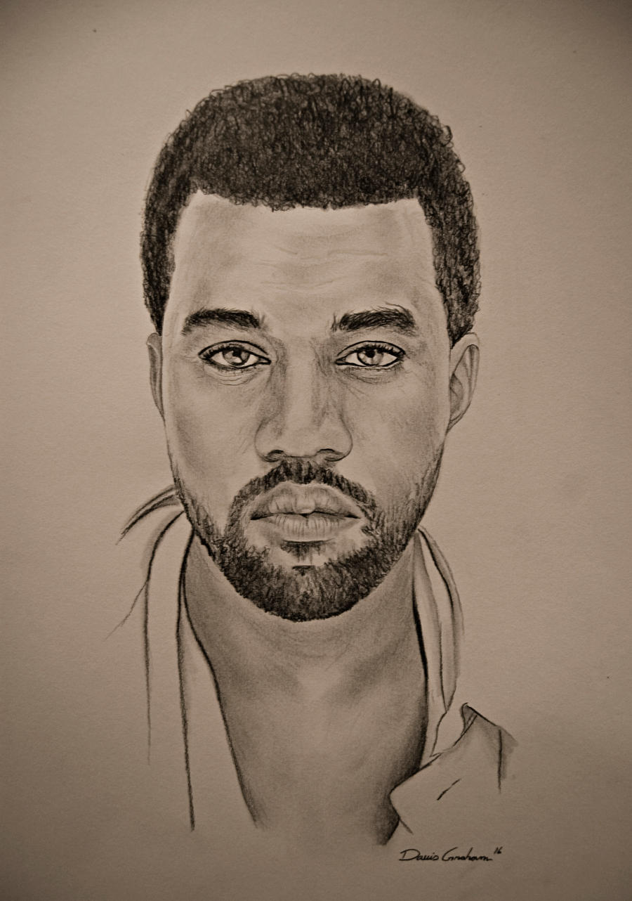 Kanye West By Iampencilfingerz On Deviantart
