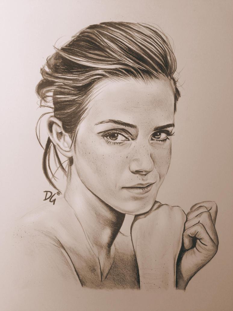 Emma Watson by Davis53