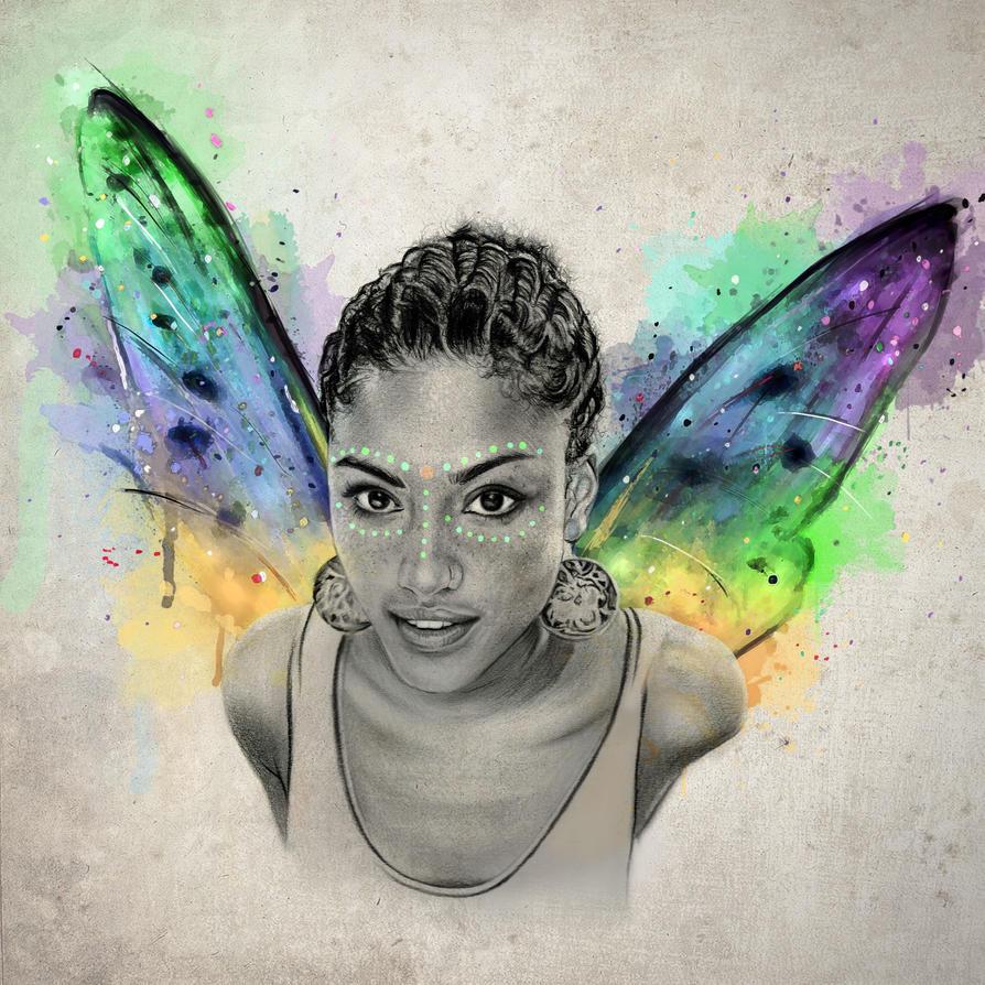 The Butterfly by IAmPencilFingerz