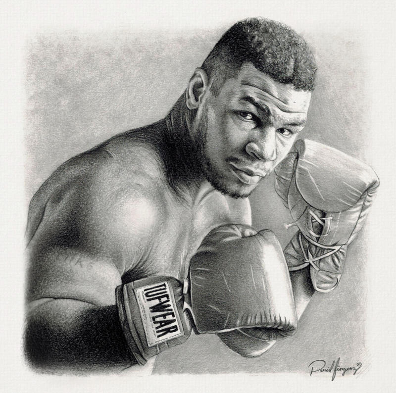 Iron Mike Tyson by IAmPencilFingerz