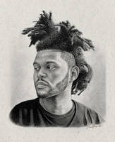 The Weeknd by IAmPencilFingerz