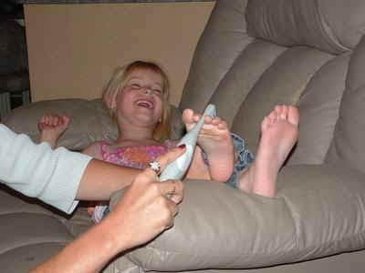 Young girl tickle 9