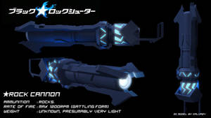Rock Cannon - Black Rock Shooter