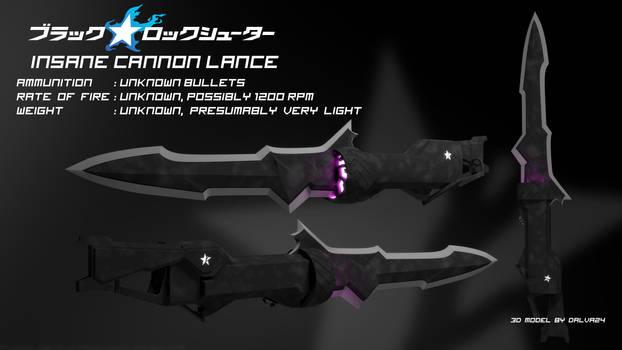 Insane Cannon Lance - Black Rock Shooter