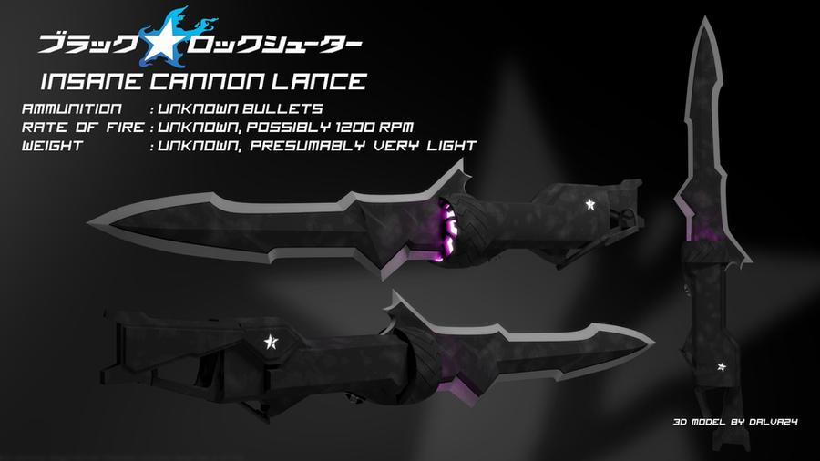 Quiero Mod's de Vocaloid,(tengo algunos  modelos  3D)  Insane_cannon_lance___black_rock_shooter_by_dalva24-d51vgwn
