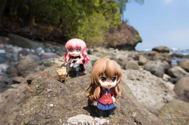 Louise and Taiga in Pangandaran - 4 by Dalva24
