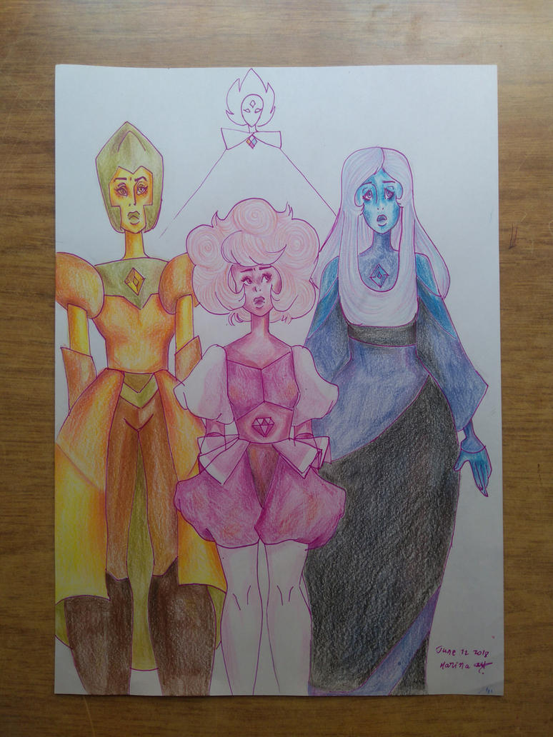 The Great Diamond Authority by MarinaArts