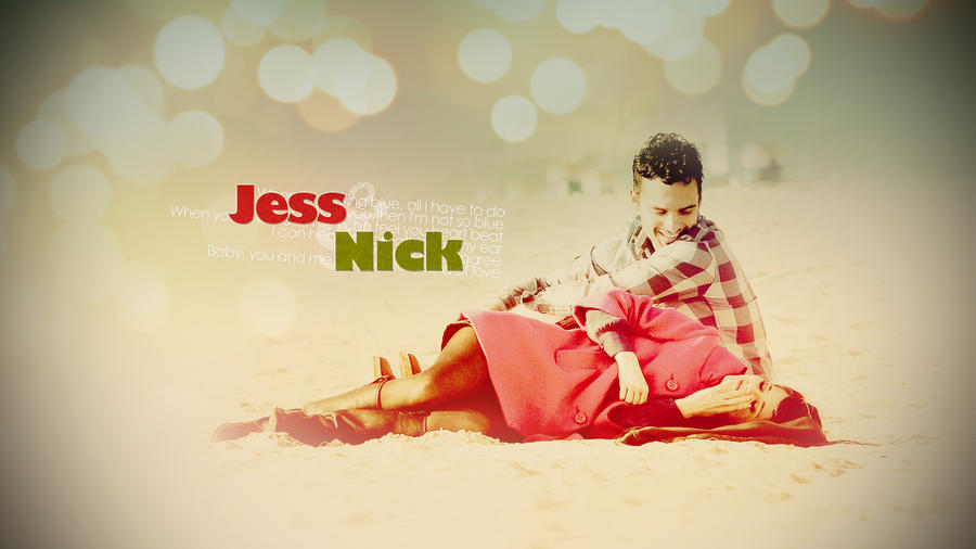 Jess and Nick by pamcoutinho