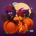 YCH Commission: It's not a pumpkin! by feekteev