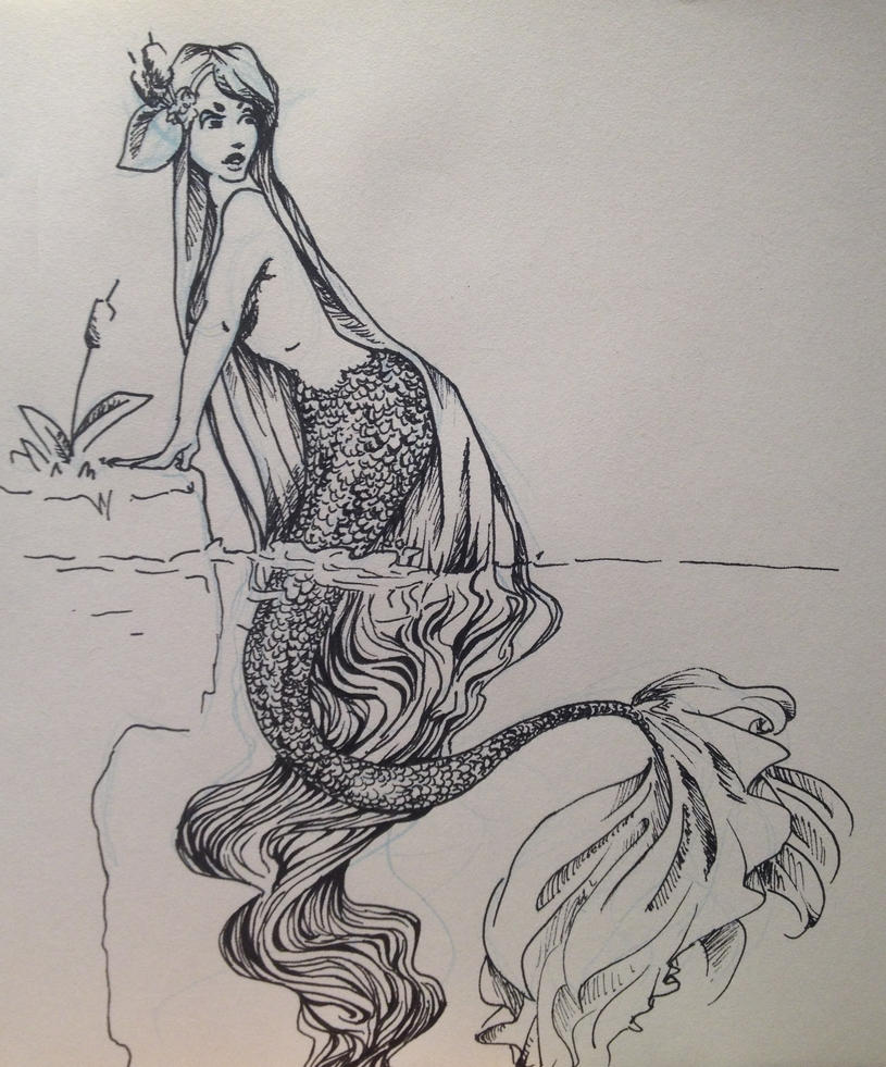 Antre du Dragon Mermaid_out_of_water_by_miaaaoux-datpgxc