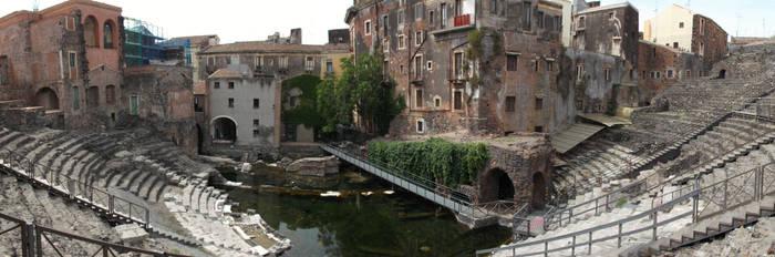 Roman Theater - Catania, Sicily