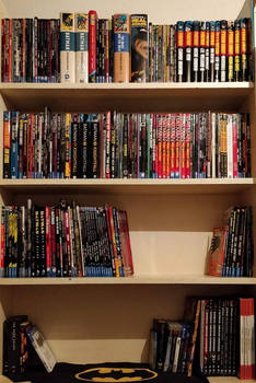 My Batman Comic Book Collection