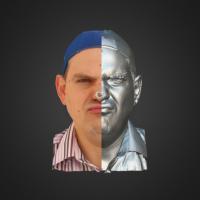 3-866500-3D Scan - Alexandro Chramcov - 05 - Angry by HumanAnatomy4Artist