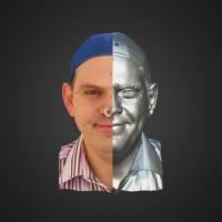 3-866499-3D Scan - Alexandro Chramcov - 03 - Smile by HumanAnatomy4Artist