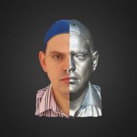 3-866495-3D Scan - Alexandro Chramcov - 01 - Relax by HumanAnatomy4Artist