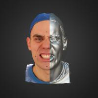 3-866418-3D Scan - Tomas Mayer Levi - 13 - Teeth by HumanAnatomy4Artist