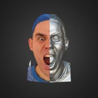 3-866413-3D Scan - Tomas Mayer Levi - 09 - Scream by HumanAnatomy4Artist