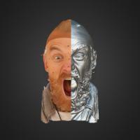 3-866402-3D Scan - Roman Sluka - 09 - Scream by HumanAnatomy4Artist