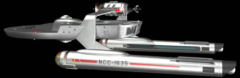 Miranda Class Starship TOS
