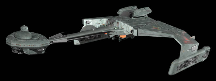 Klingon Recon Starship Side