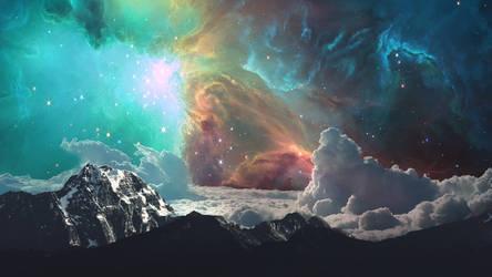 Lost in Space Wallpaper w/o Astro