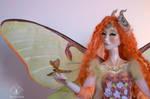 Elaine, moth fairy by Leablackvelvet