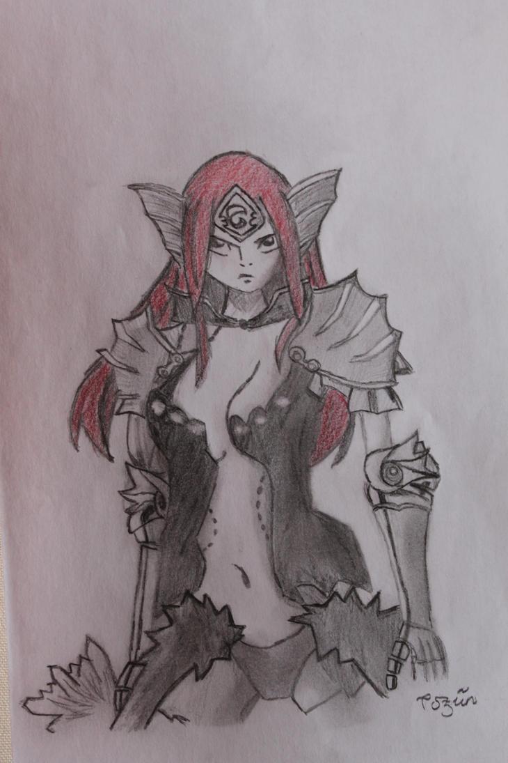 Erza-Sea Empress by Nnoitra1 on deviantART
