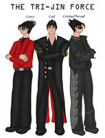 The Tri-Jin Force - Color by SonKitty