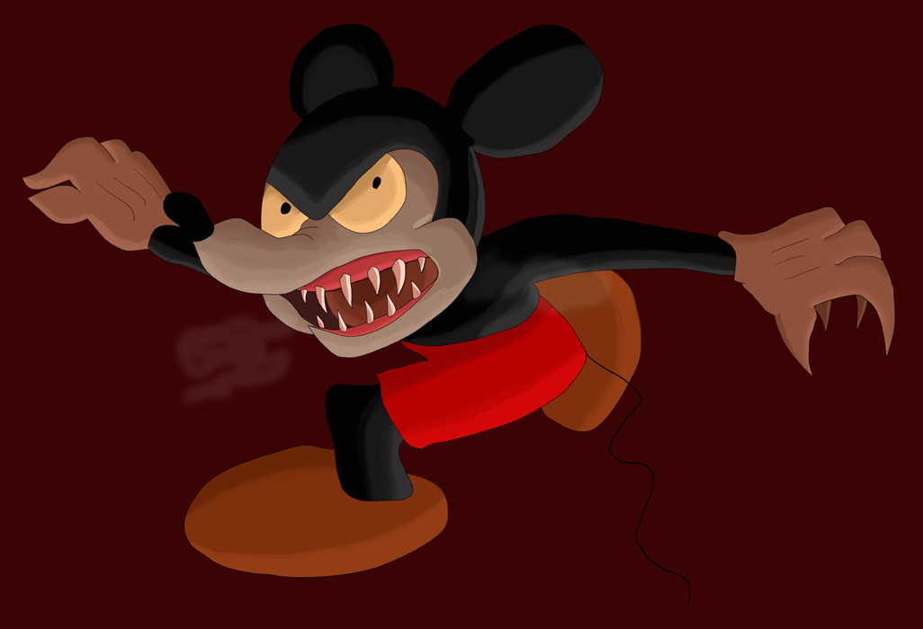 Monster Mickey 1 Color V2 By Sonkitty On Deviantart