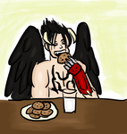 Devil Jin and Cookies - Color