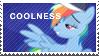 Rainbow Dash Coolness Stamp