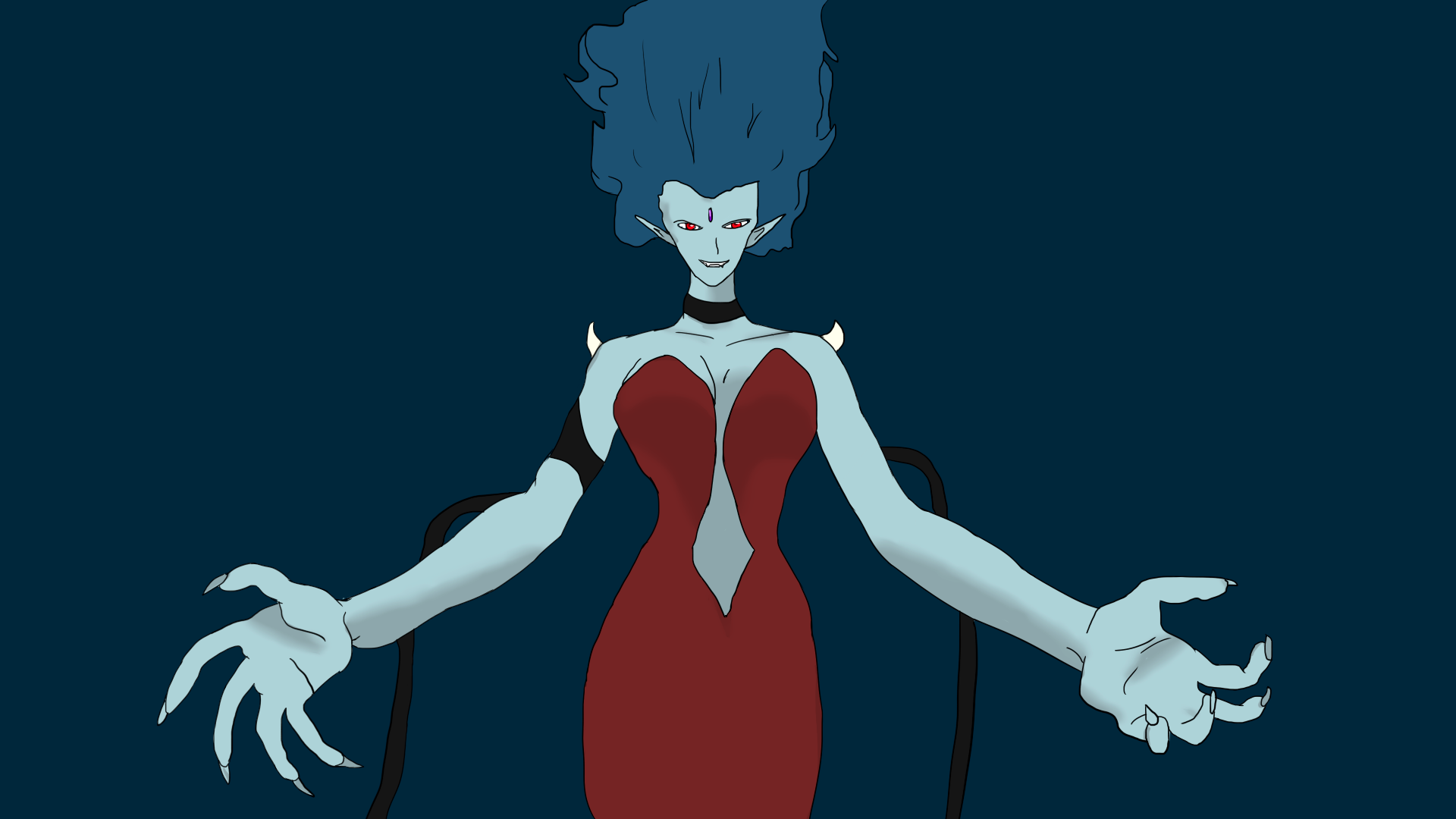 Queen Metallia 2 by SonKitty
