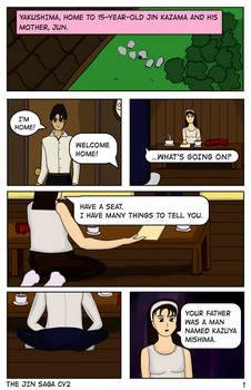 The Jin Saga CV2 Chapter 1 - Page 1
