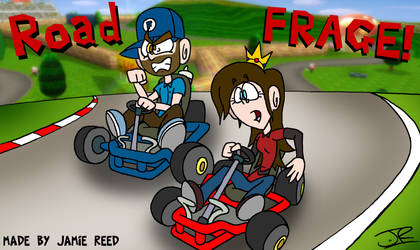 Mario Kart: Road Frage! by Peskyplumber64