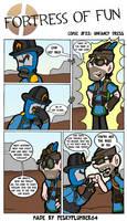 Comic #22: Unfancy dress by Peskyplumber64