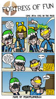 Comic #24: Eyes on the prize by Peskyplumber64