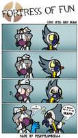 Comic #25: Bird Brain by Peskyplumber64