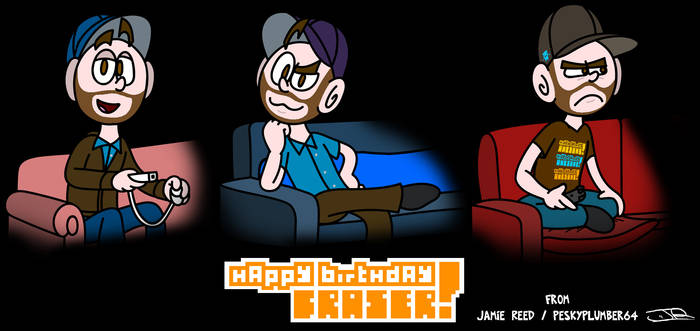 Fraser's 2016 Birthday picture by Peskyplumber64