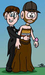 Fraser and Becky at the Prom by Peskyplumber64