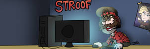 Commission: Stroof Youtube Banner by Peskyplumber64
