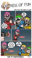 Comic #46: The speed of Light by Peskyplumber64