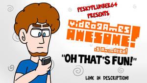 Oh that's Fun! VGA animation by Peskyplumber64