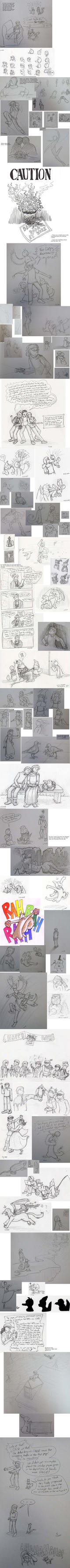 Sketchbook Spam '13-'15, Part 2 by Between-the-Stars