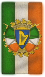Painted irsih phone background for St Paddy's day by PdictusMagister