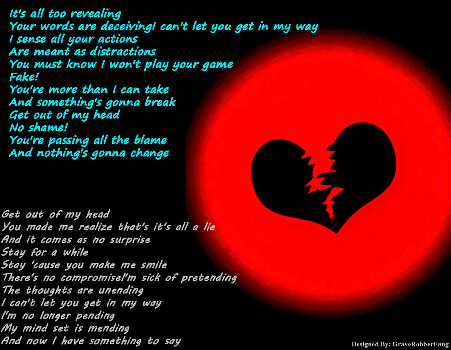 Lyric say something lyrics : Seether: Fur Cue Lyrics by GraveRobberFang on DeviantArt