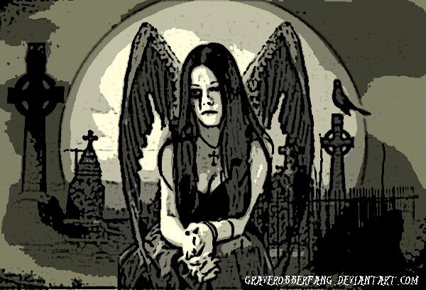 from Gabriel gothic graveyard girls naked