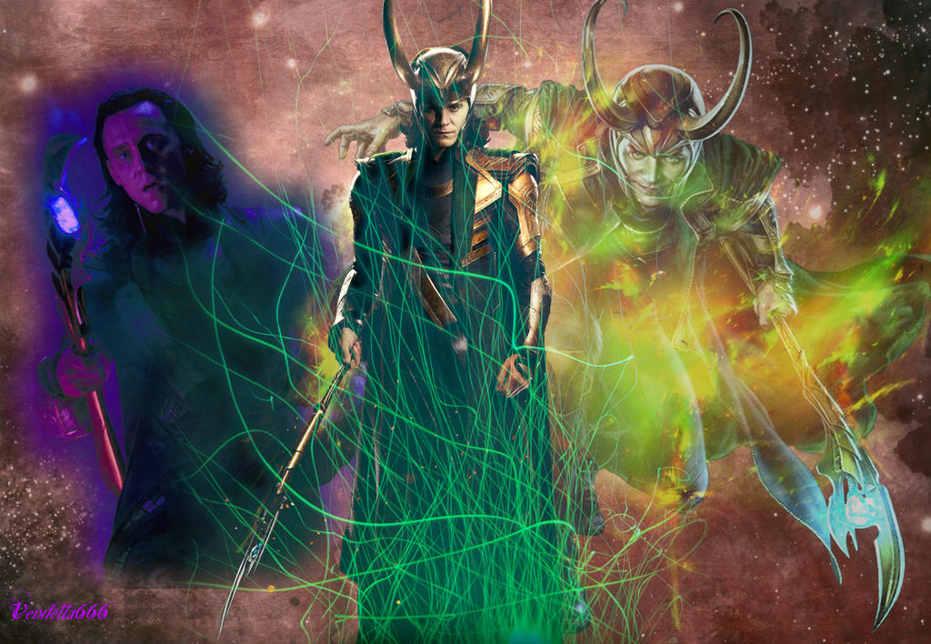 Loki, the God of Mischief -background- by Vendetta666 on ...