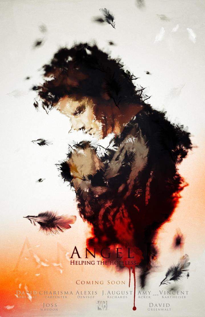 Angel Poster by demetreas